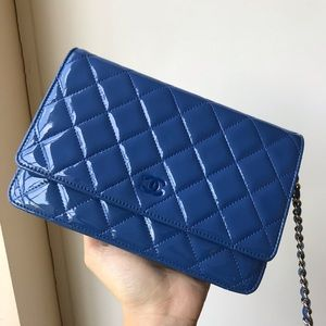 Chanel wallet on chain in patent.